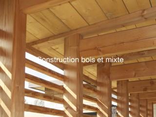 Construction bois et mixte