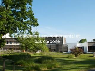 Engagement environnemental et bas carbone